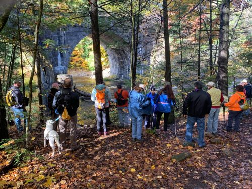 Keystone Arch Bridges Trail Group Hike October 17th photos