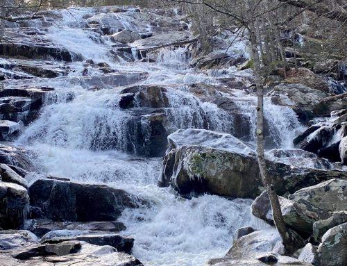 Glendale Falls in Middlefield