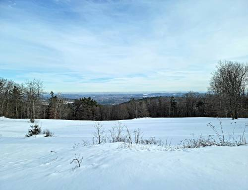 Nobleview Outdoor Center in Russell for Snowshoeing and Cross Country Skiing