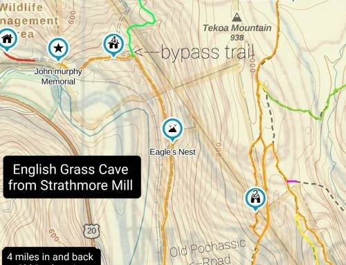 English Grass Cave, Two Ways to Get There