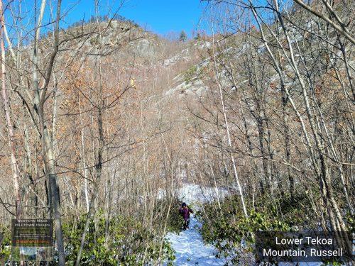 Lower Tekoa Trail in Russell