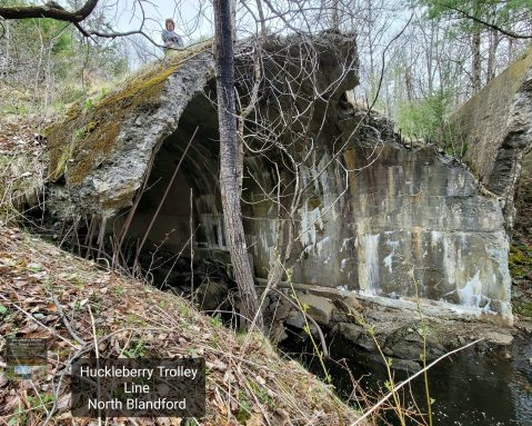 Huckleberry Trolley Line in North Blandford part 2