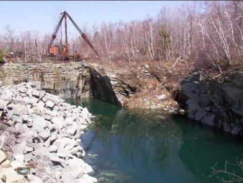 Bowe Quarry in Otis
